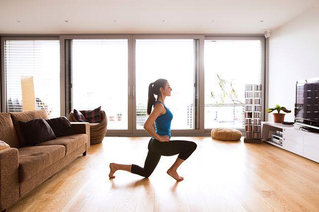 Ćwiczenia dla początkujących w domu mogą przynieść świetne efekty