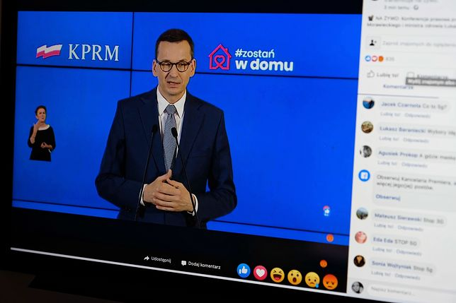 Koronawirus. Obostrzenia w Polsce. Premier Mateusz Morawiecki: będą otwarte lasy i parki. Nowe zasady w kościołach