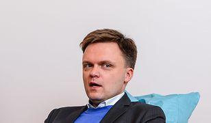 Szymon Hołowni uważa, że PiS przekroczył granicę, publikując spot o uchodźcach