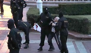 Białoruś. Protest w Mińsku i interwencja OMON. Są zatrzymani
