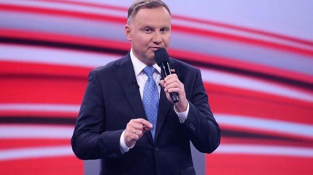Andrzej Duda wypowiedzią o obowiązkowych szczepieniach wzbudził kontrowersje