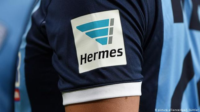 Firma Hermes zajmuje się dostarczaniem przesyłek