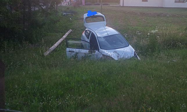 Groźny wypadek w Nowej Wsi Lęborskiej