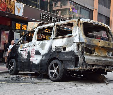 Hongkong walczy o zachowanie autonomii. Protesty na ulicach osiągnęły punkt krytyczny