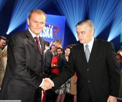 Donald Tusk i Włodzimierz Cimoszewicz