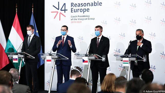 Grupa Wyszehradzka. Do Polski mają trafić miliardy euro na odbudowę gospodarki po kryzysie wywołanym epidemią
