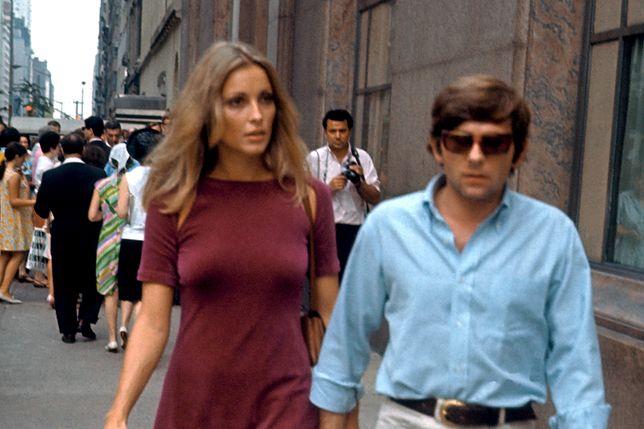 Sharon Tate i Roman Polański w 1967 r.