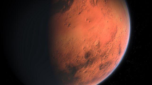 Nowa technologia pomoże łatwo pozyskać tlen i wodór ze słonej wody na Marsie
