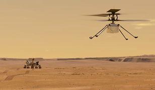 NASA: Historyczny lot na Marsie. Obejrzyj start helikoptera Ingenuity [Wideo]