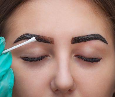 Henna brwi i rzęs pozwala na podkreślenie oczu i uzyskanie efektu trwalszego od codziennego makijażu