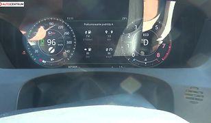 Jaguar F-Pace SVR 5.0 V8 550 KM (AT) - pomiar zużycia paliwa