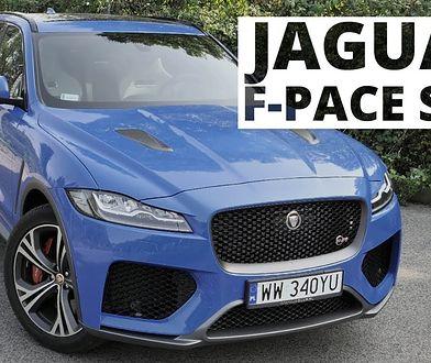 Jaguar F-Pace SVR - ostatni pomruk kota