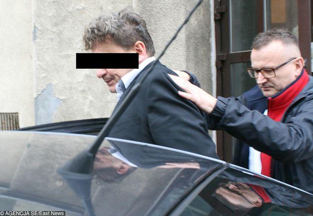 Piotr T. zatrzymany przez policję