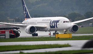 Lot z Chicago do Warszawy miał niespodziewany przebieg