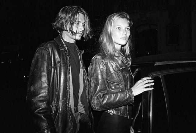 Johnny Depp i Kate Moss (1994)
