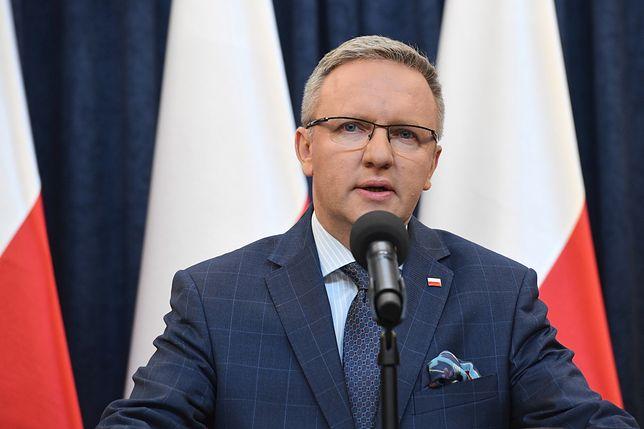 Pałac Prezydencki. Briefing Krzysztofa Szczerskiego