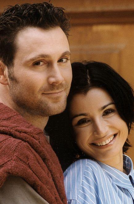 Bartek Świderski i Joanna Brodzik na wspólnym zdjęciu z 1999 r.