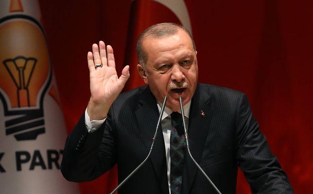Prezydent Turcji Recep Tayyip Erdogan wygłosił w Stambule jednoznaczne przemówienie