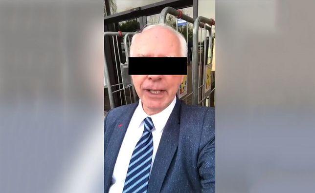 """Jerzy Z. twierdzi, że policja i prokuratura chcą """"okraść"""" jego klientów"""