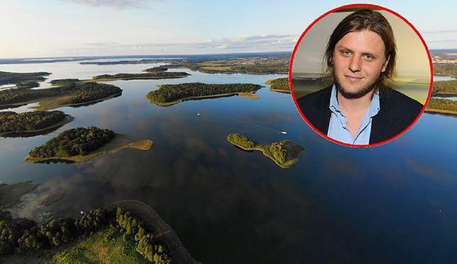 Piotr Woźniak-Starak zaginął. Jezioro Kisajno przeszukiwane.
