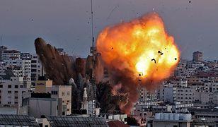 Bliski Wschód. Naloty izraelskiej armii na Strefę Gazy