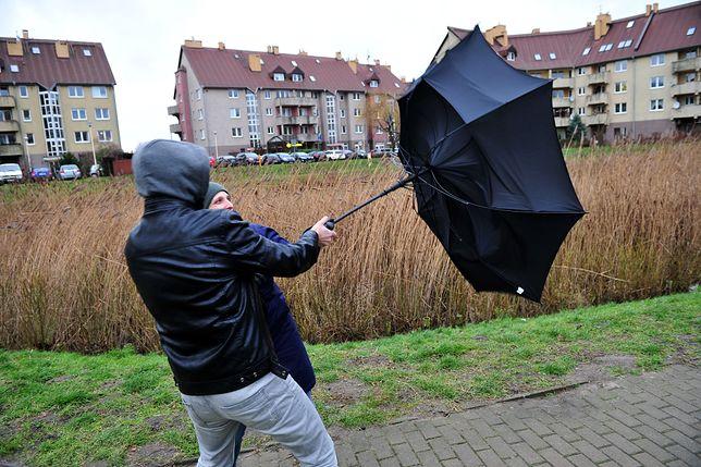IMGW wydał ostrzeżenia 2. stopnia. Wiatr nawet do 100 km/h