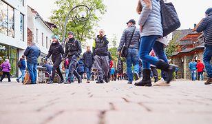 Krupówki to najpopularniejszy deptak w Polsce
