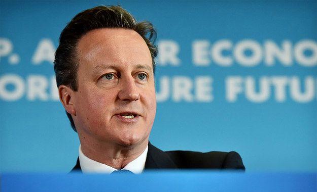 David Cameron grozi Rosji zaostrzeniem sankcji w związku z Ukrainą