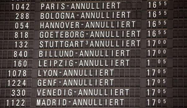 Lufthansa musiała odwołać 218 lotów z lotniska we Frankfurcie nad Menem