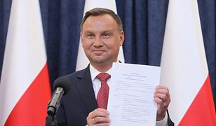 Prezydent chce, by referendum przeprowadzono w dniach 10-11 listopada