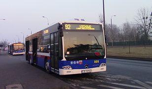 Do zdarzenia doszło w autobusie miejskim, podczas szkolnej wycieczki.