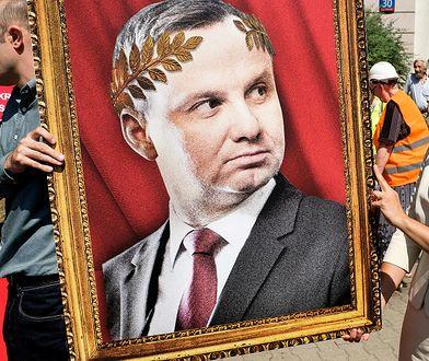 Andrzej Duda boi się walki z PiS