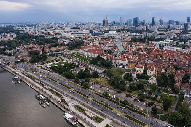 Smog w Warszawie we wtorek 7 stycznia 2020 r.