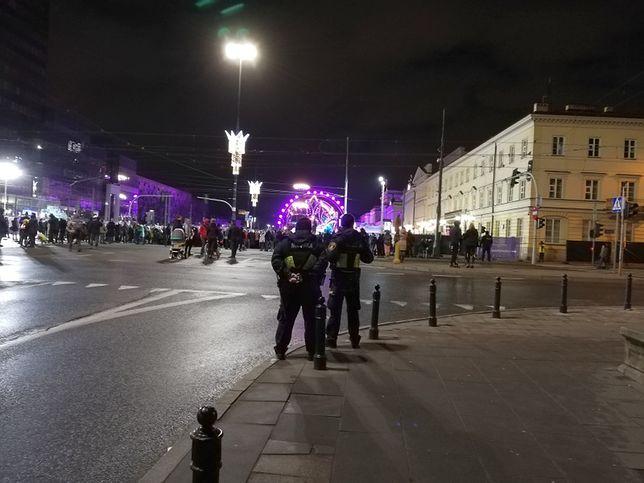 Warszawa. Straż Miejska podsumowała swoje działania podczas nocy sylwestrowej w stolicy