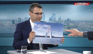 """Pietrzak przedstawia projekt łuku trumfalnego na Wiśle. """"Oderwie się od władz Warszawy"""""""