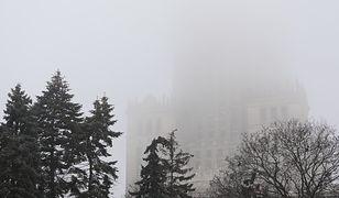 Smog w Warszawie w piątek 24 stycznia 2020 r.