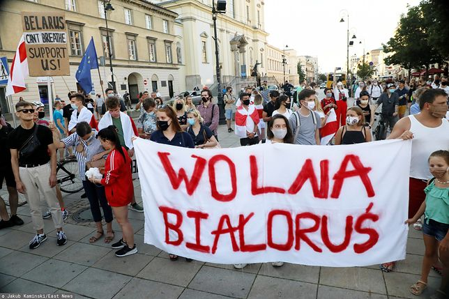 Warszawa. Miasto oferuje wsparcie dla Białorusinów