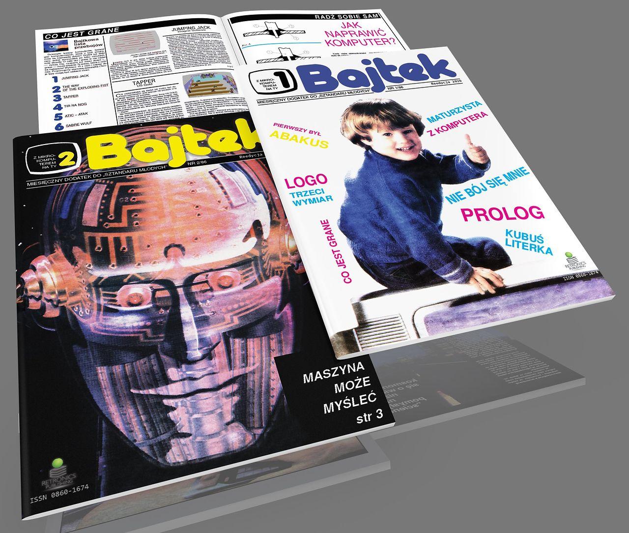 Retromaniak: Reedycja Bajtka – pierwsze egzemplarze już u szczęśliwców, trwają zapisy na numery w kolorze
