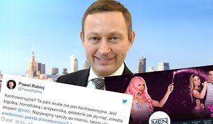 Paweł Rabiej przeoczył istotny szczegół w swoim wpisie na Twitterze