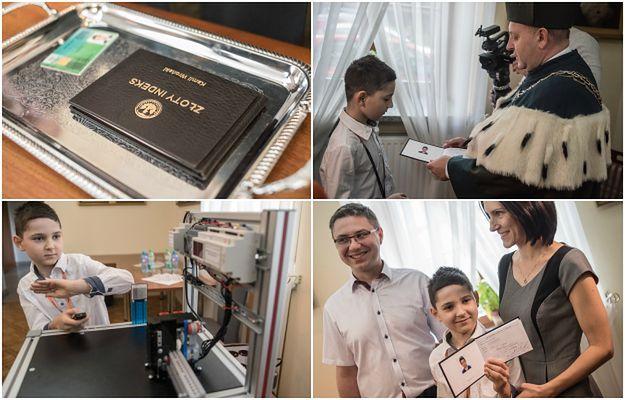 Najmłodszy student w Polsce ma 9 lat i studiuje mechatronikę