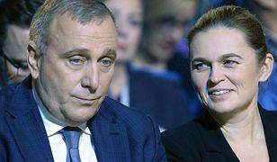 Lider PO Grzegorz Schetyna i lewicowa twarz Koalicji Europejskiej - Barbara Nowacka.