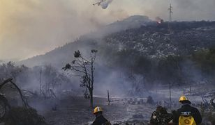 Od kilku dni płoną lasy w Dalmacji