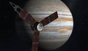 Sonda Juno dostarczyła badaczom nowych danych