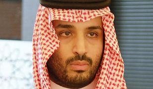 Następca tronu i faktyczny przywódca królestwa - Mohamed bin Salman