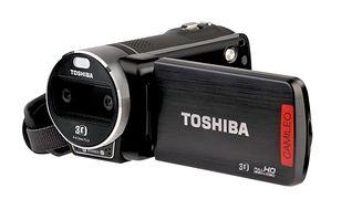 CES 2012: Toshiba pokazuje nową kamerę Camileo 3D Full HD