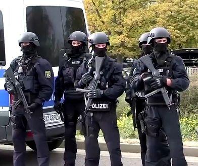 Niemcy: Strzały w Halle niedaleko synagogi