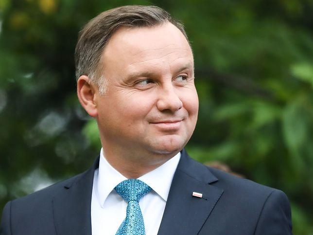 Andrzej Duda dostanie królewski łańcuch? Senat zaczął prace