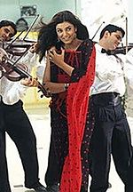 Richard Gere z nieznaną jeszcze gwiazdą Bollywood