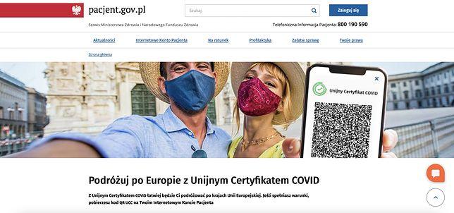Internetowe Konto Pacjenta i paszport covidowy