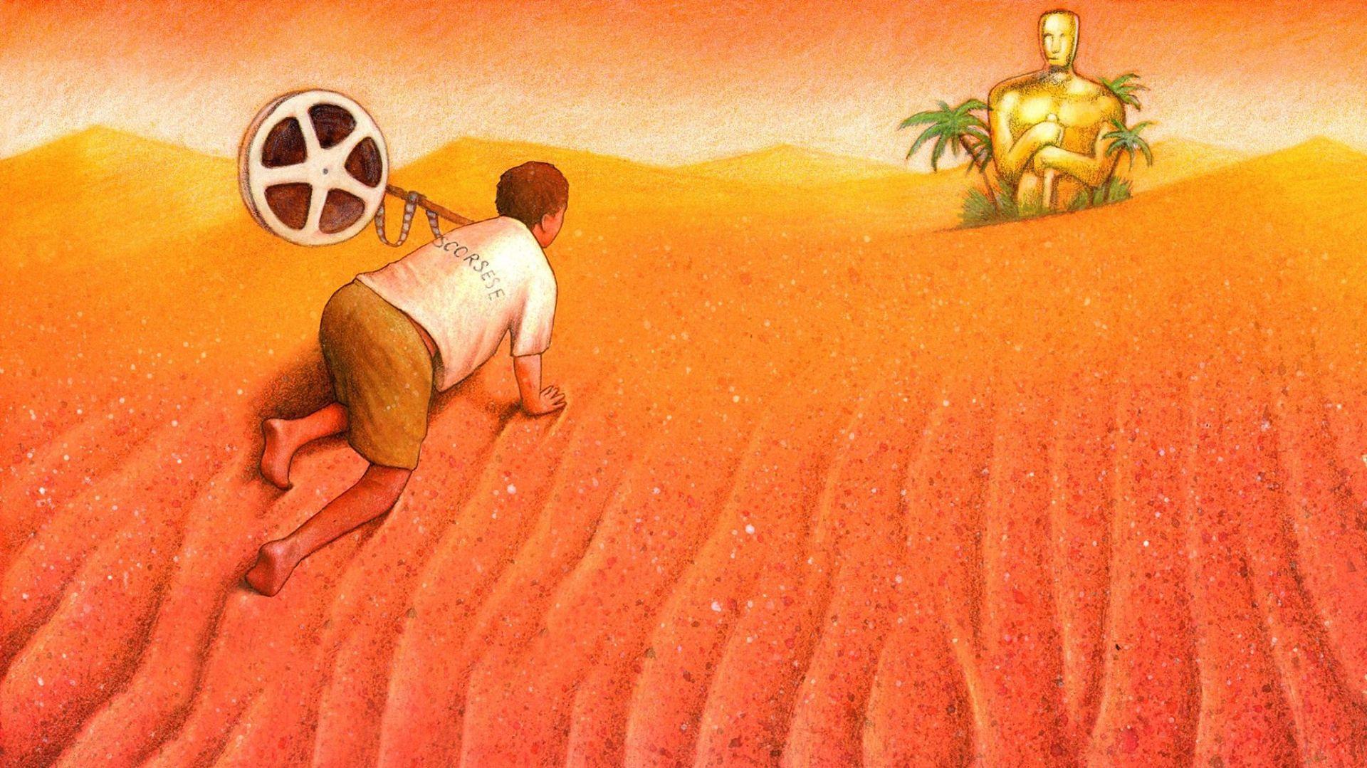 Na pustyni widziano Jezusa. W rękach trzymał Oscara